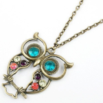 Cheap Owl Necklace – Only $.83 cents + FREE Shipping!