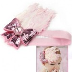 Peacock Feather Baby Headband Only $1.99 with Free Shipping!