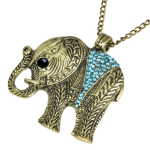 Elephant Pendant Necklace only $2.59 + FREE Shipping!