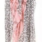 Beautiful Leopard & Chain Scarf Only $3.98 with Free Shipping!