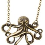 Vintage Steampunk Octopus Necklace only $.81 + FREE Shipping!