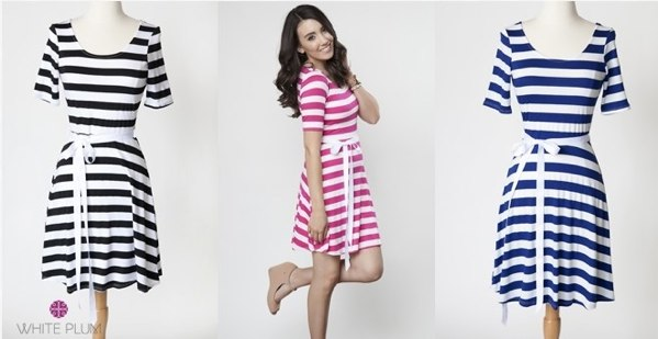 Susie Ribbon Dress! 3 Color Options! | Jane