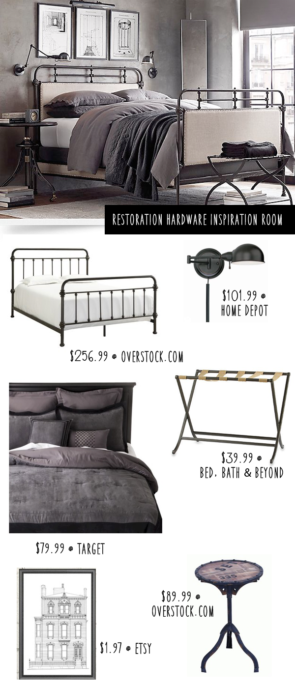 Restoration Hardware Bedroom: Get The Look for Less | Money Saving ...