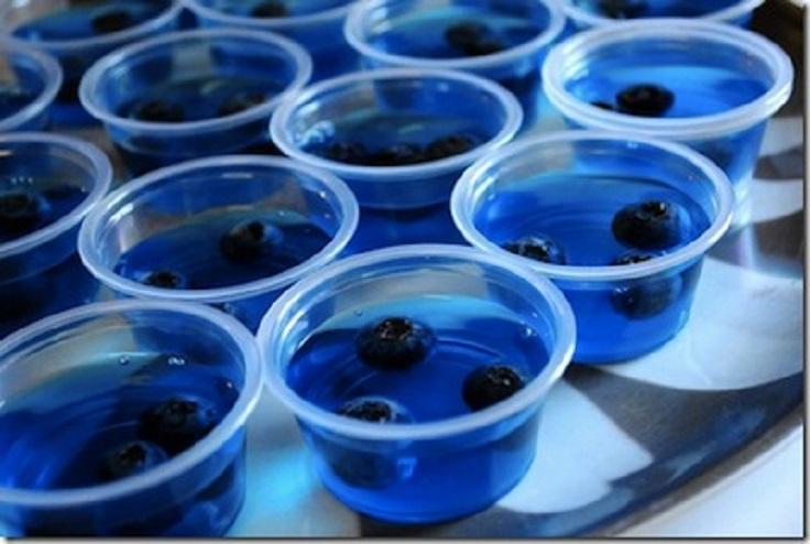 Blueberry-Jello-Shots