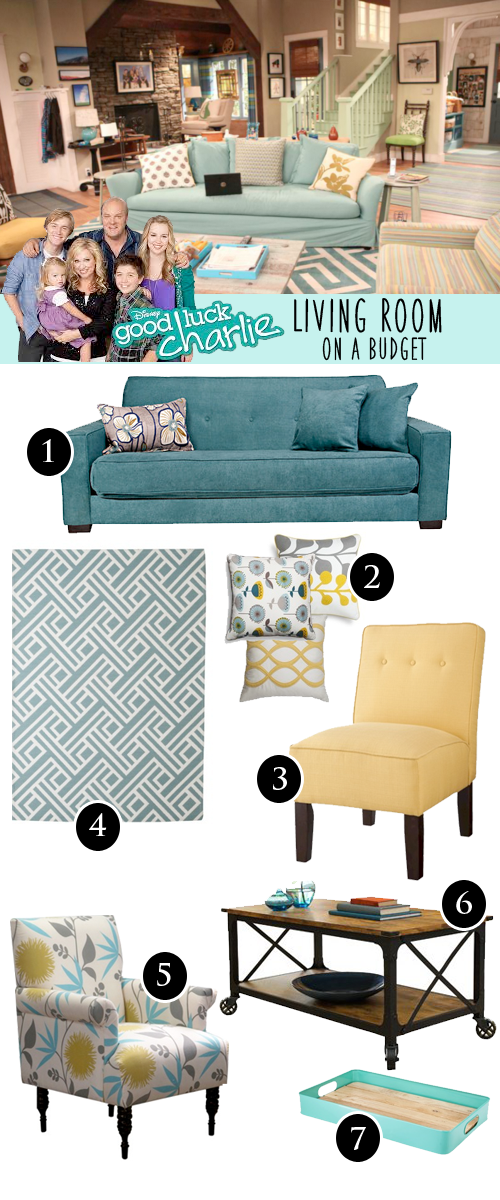 Delightful Good Luck Charlie Living Room Budget Part 22