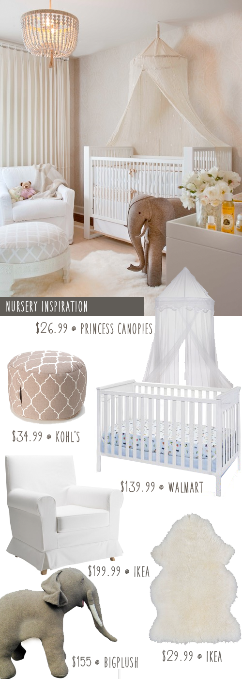 Hollywood Glamour Girls Nursery On A Budget Money Saving Sisters