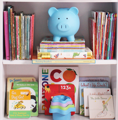 book-shelf-styling