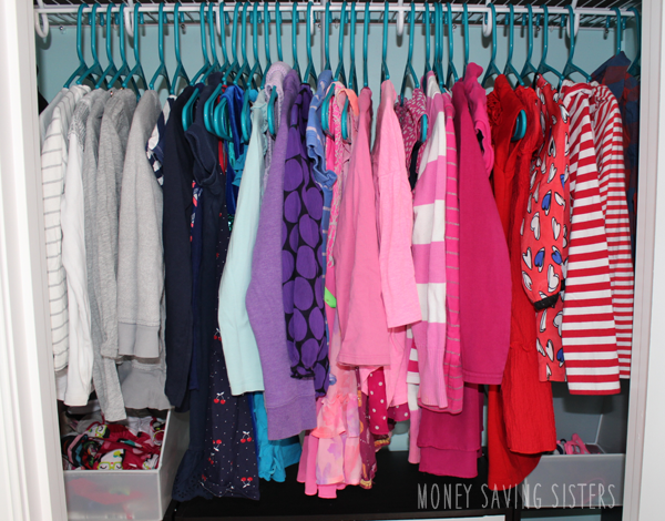 Kids Room Small Closet Makeover On A Budget