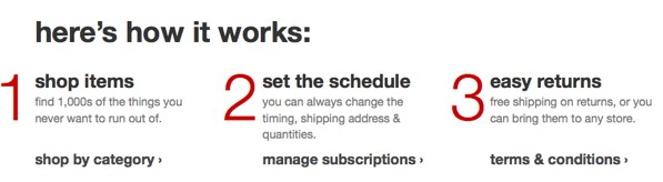 Target Subscriptions
