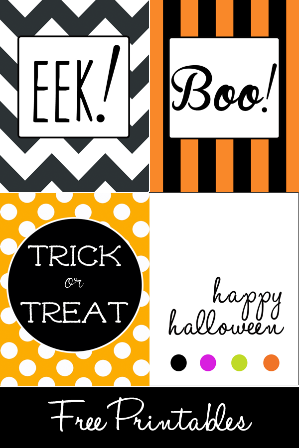 Free Halloween Printables | Money Saving Sisters