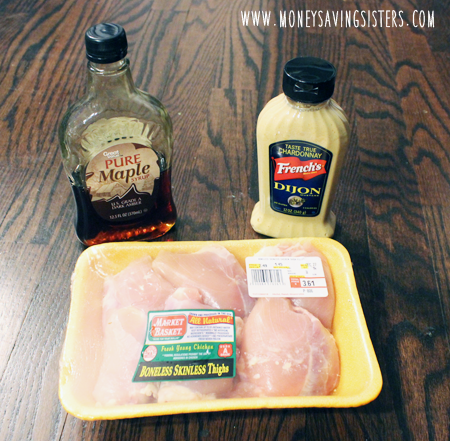 3ingredientmapledijonchicken