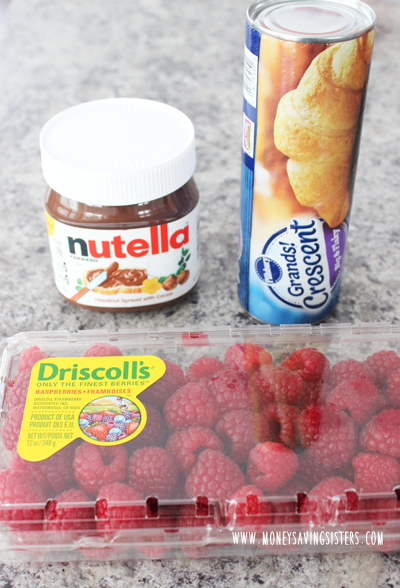 ingredients-for-nutella-roll
