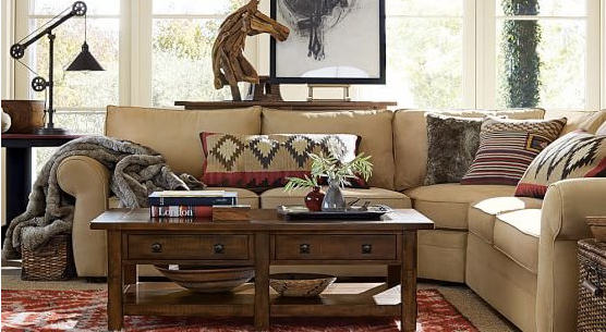 Almas Kilim Pottery Barn Pillow Knock Off Living Room | Money ...