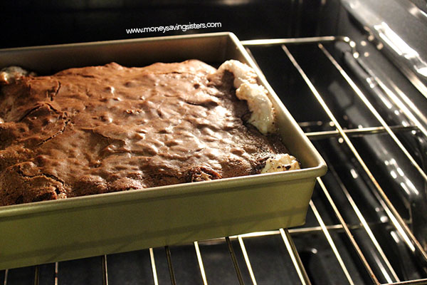 brownie-oven
