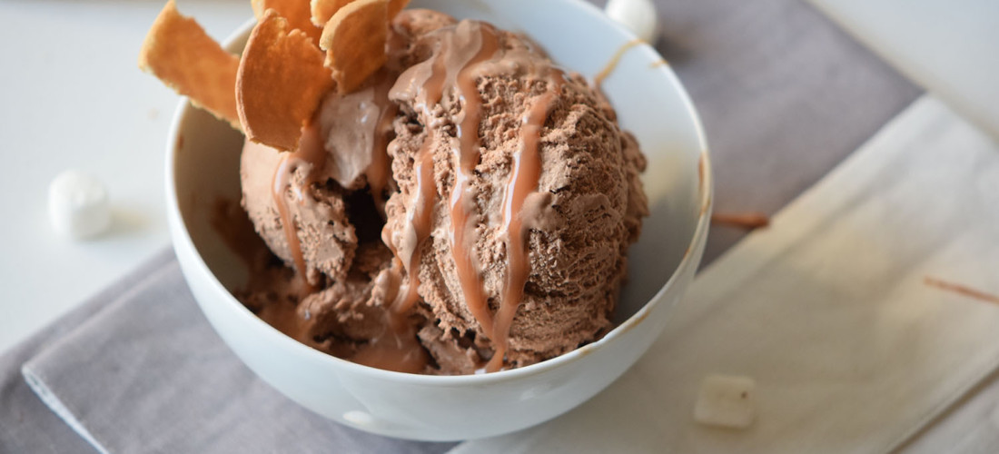 Chocolate Caramel Ice Cream Recipe for your Ice Cream maker!